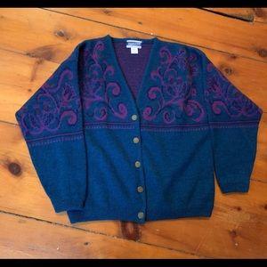 Pendleton Wool Sweater - Vintage Pendleton 90's
